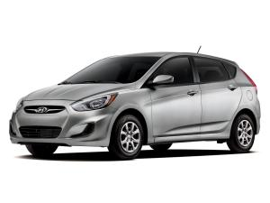Hyundai Accent 5-Door 2011 года (US)
